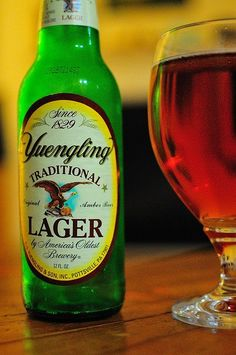 Yuengling, from America's oldest brewery (1829). By European standards, that doesn't even approach being an old brewery. :)