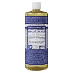 We have used Dr. Bronner's Castile soap as an insecticide for many years. We find it works wonders in the garden and, if you choose the peppermint or lavender, it takes the experience to a wh…