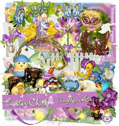 Easter Chick [AM_EasterChick.zip] - $1.05 : AmyMaries Kits