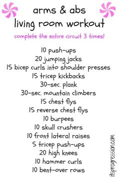 1000 ideas about living room workout on pinterest for Living room exercises