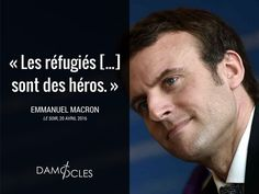 #EmmanuelMacron #Macron #France #GrandRemplacement #Politique #Europe #clandestins #migrants #Damocles