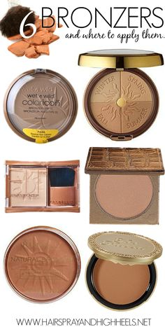 Where To Apply Bronzer  via www.hairsprayandhighheels.com