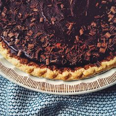 :: kraftykym ::: Spicy Mexican Chocolate Pumpkin Pie