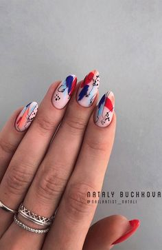 These gorgeous nail art designs are giving us all the manicure inspiration we need for our next manicure. We are obsessed with these fabulous nails. Cute Acrylic Nails, Cute Nails, Pretty Nails, Gel Nails, Cute Short Nails, Shellac Nail Art, Fancy Nails, Stiletto Nails, Nail Manicure