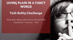 Talk Softly   Just Plain Marie