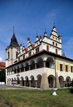 Old town hall in Levoca (UNESCO World Heritage List, 2009), Slovakia, 15th-17th…