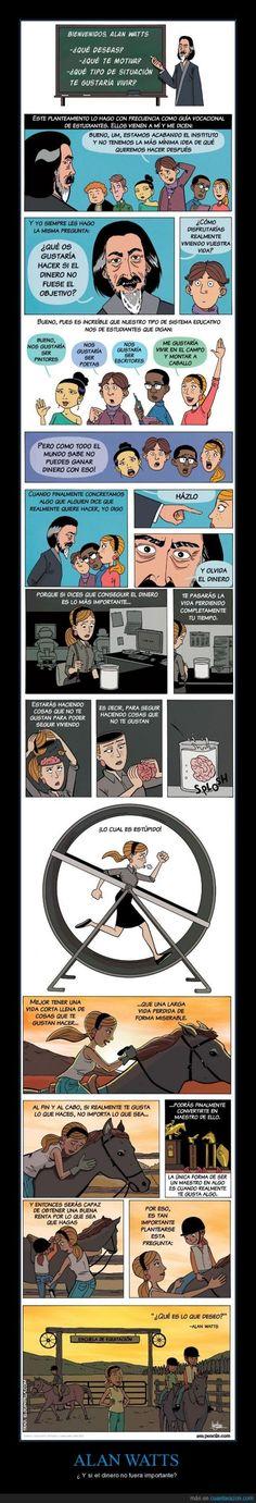 Si el dinero no importara #comic. Aportación de Juan Toro