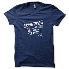 Take A Stand Funny Music Marching Band Teacher by BLACKOUTTEES