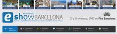 El eShow llega a Barcelona los próximos 25 y 26 de marzo. Barcelona es la ciudad elegida para celebrar la edición número 17 de eShow, la feria dedicada a e-commerce, marketing online, social media, mobile e internet....