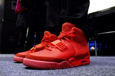 Red yeezy's :)