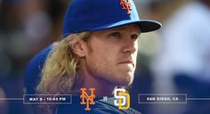 tonight at 10:40pm. Noah Syndergaard will be taking the mound. 5/6/2016