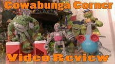 Teenage Mutant Ninja Turtles Half Shell Heroes toys for Michelangelo, Leatherhead and Kraang based on the Nickelodeon TMNT 2012 series.  Check out a video review here: http://www.cowabungacorner.com/content/review-half-shell-heroes-sewer-cruiser-diver-mike-leatherhead-and-kraang