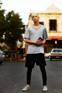 THE GREY V NECK | On the Street……The Dancer, Melbourne « The Sartorialist