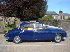 Indigo Blue MKII Jaguar Saloon Hire