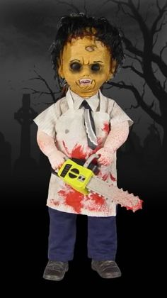 Living Dead Dolls - LEATHERFACE - in stock    £21.00