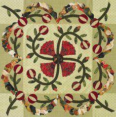 Flower Applique Quilts
