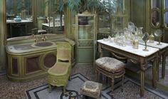 Salle de bain de la chambre de Monsieur