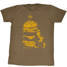 Burger for the Boy Popeye T-Shirt   Generation T