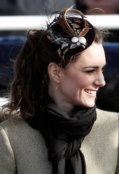 Kate Middleton sports a chic hat!