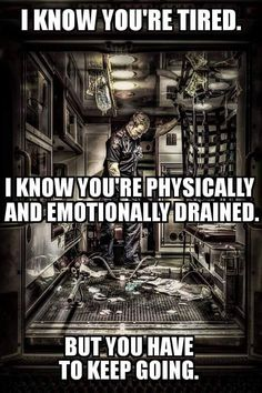 Stay strong. Hold the line. #ems #medic #paramedic #emt