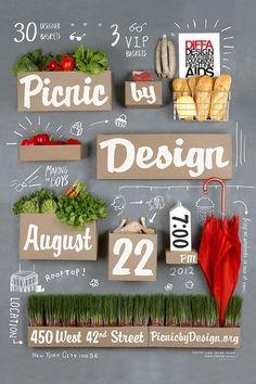 Food / poster (by Input Creative Studio) Designspiration