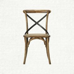 Cadence Dining Side Chair With Woven Seat In Oak | Arhaus Furniture