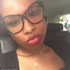 One of a kind: Jennifer Hudson showed off her new necklace made from her son Munch's first baby tooth and a gold open heart on a gold chain in a selfie she posted to her Instagram on Friday