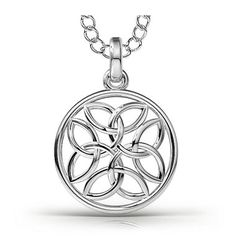 Just look at this Eternal Celtic Intricate Pendant Necklace. This is why I love Gemify!