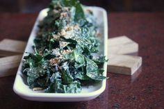 The Best Kale Caesar Salad You'll Ever Have | A Cup of Jo