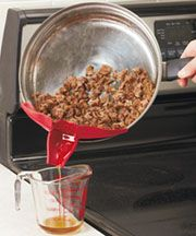 g-Spout™ Dripless Strainer amazing