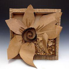 Cardboard Sculpture, Cardboard Art, Cardboard Relief, Cardboard Design, Arts Ed, Sustainable Design, Teaching Art, 3 D, Art Drawings