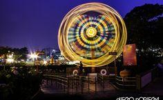 IRTRA Theme park At Night, Guatemala City.