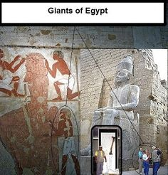 I made this topic to spread the hidden truth of giants in ancient egypt, The truth which archaeologists hide untill todays. They strongly fight to kill it b...