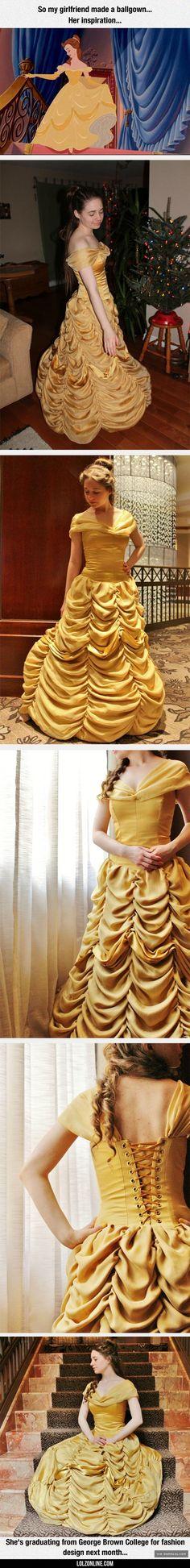 Amazing Dress Inspired By A Disney Princess#funny #lol #lolzonline