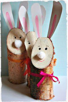 Giocabosco: creare con Gnomi e Fate: Coniglietto di legno