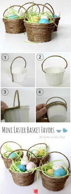 Mini Easter Basket Crafts
