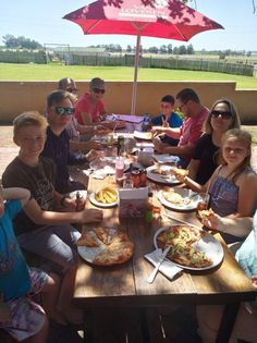 Bring the whole family! #Food #GoodFood #Restaurant #Farm #Stellenbosch #Winelands