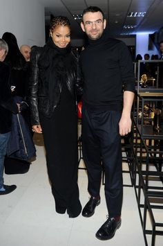 New Pic MILAN, ITALY - FEBRUARY 21: Janet Jackson and Sergio Rossi attend the Sergio Rossi presentation cocktail during Milan Fashion Week Womenswear Fall/Winter 2013/14 on February 21, 2013 in Milan, Italy. (Photo by Jacopo Raule/Getty Images for Sergio Rossi) 2013 Getty Images