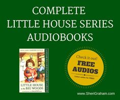 Do you love the Little House books like we do? Listen to these free audiobooks of all 9 Little House books!