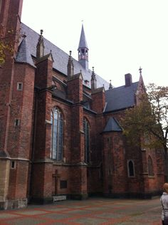 The local church in Kleve!!