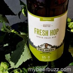 Two Beer Fresh Hop Ale Available Now