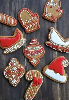 Christmas cookies for the most wonderful time of the year!