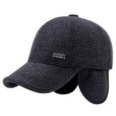 9733ae07e1e Mens Winter Warm Soft Lined Dad Wool Cap Adjustable Baseball Hats   See  this great product.