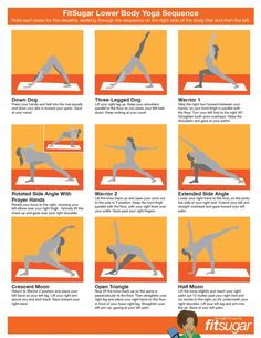 yoga sequence.