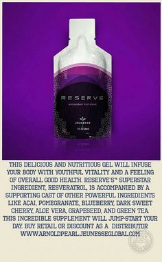 Healthy living, anti-ageing, lose weight, jeunesse global, work from home, anti-oxidant, nobel prize, stem cell