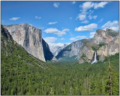 Yosemite National Park. Spent many trips here growing up. Loved Wawona, Mariposa Grove Tree Tour, the small grocery store where I would go for candy & comic books, the valley souvenir shop, Washburn Meadow, The Redwood Moore's (where they had a snack shack and small bowling alley), Glacier Point....