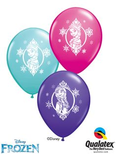 Let's bring the enchanted world of to their fans! These balloons are sure to enchant your deliveries and decors. Anna Und Elsa, Princess Balloons, Qualatex Balloons, Disney Princess Birthday, Bubble Balloons, Balloon Bouquet, Girls Dream, Disney Frozen, Little Princess