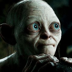 30 Teachers Reveal The Saddest, Most Obvious Thing They've Had To Explain To A Student. The Hobbit Gollum, Gollum Smeagol, Gifs, Disney Theory, Cinema Tv, Cow Art, Face Expressions, Jrr Tolkien, Funny As Hell