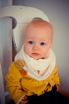 infinity scarf for baby, if we have a baby girl she will be rocking this look!