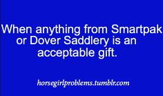 Not really a problem. But my entire Christmas list consists of items from Dover or Back in the Saddle!